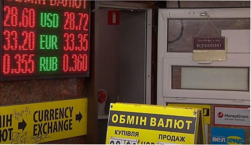 Обмен валют в Украине, Нацбанк Украины, Обмен валют по паспорту, Лимит на обмен валют