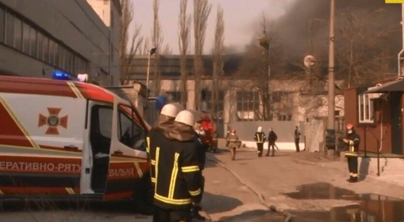 Пожар в Александровской больнице
