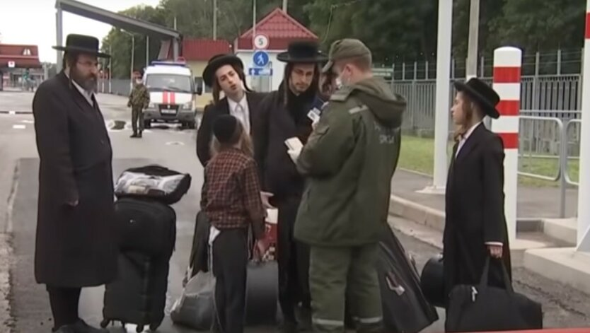 Геращенко показал, какой свинарник устроили хасиды на границе с Украиной