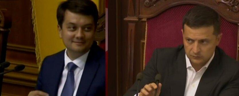 Досрочные президентские выборы в Украине: что Зеленский не поделил с Разумковым и местными элитами