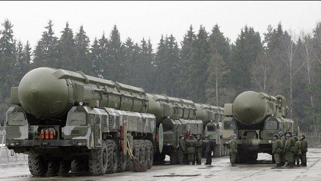 ядерное оружие РФ