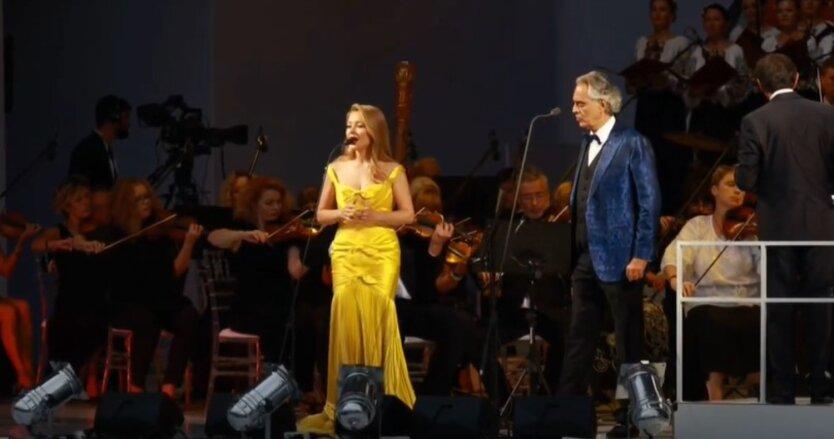 Тина Кароль и Андреа Бочелли