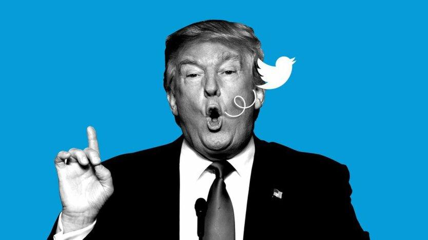 123 твита за день: Трамп установил личный рекорд в Twitter