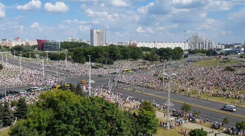 Протест в Минске против Лукашенко