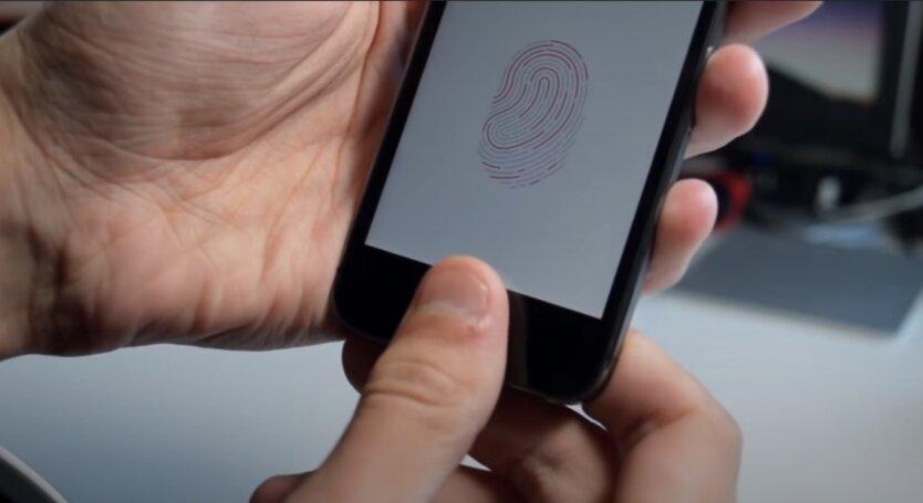Сканер отпечатков пальцев, смартфон, разблокировка