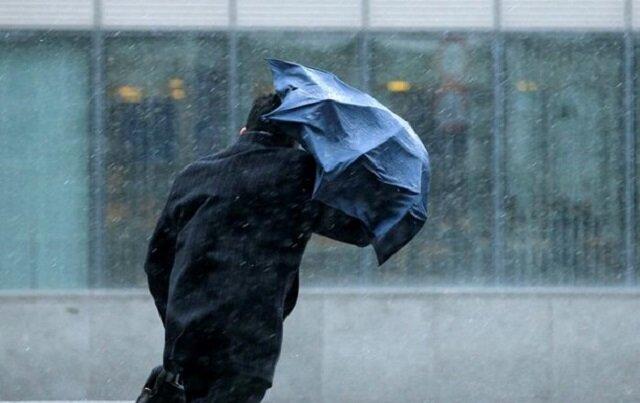 зонт дождь осень непогода