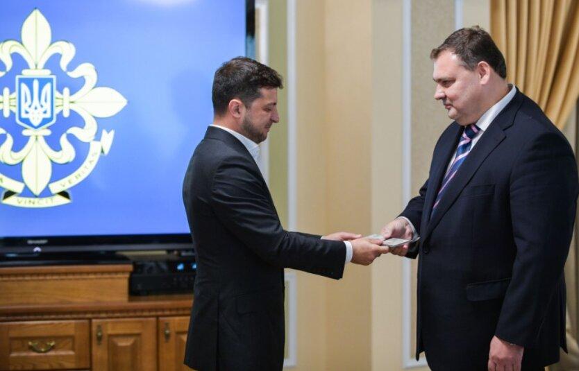 Зеленский лично представил нового главу СВР Кондратюка