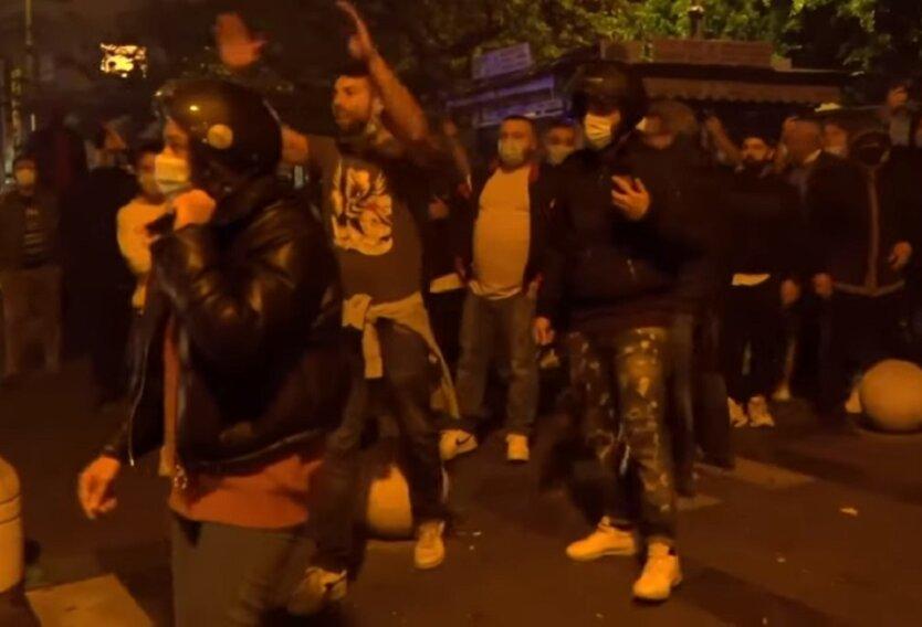 Массовые протесты в Италии
