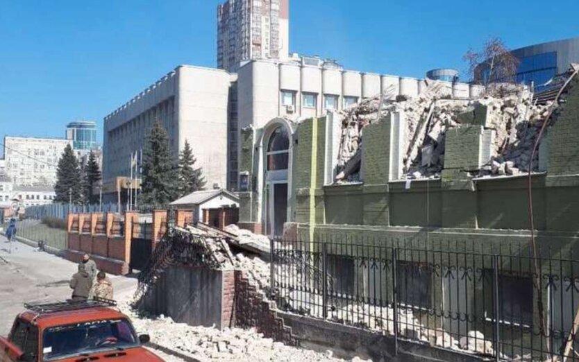 В Киеве завели уголовное дело из-за сноса исторического дома Уткина
