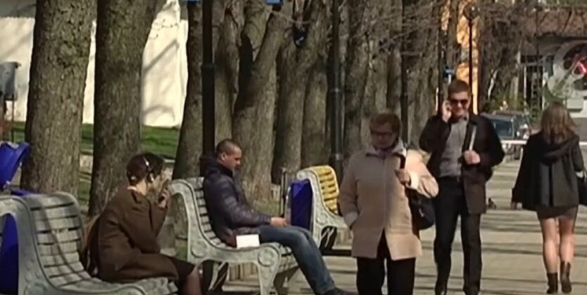 Погода, Украина, мороз