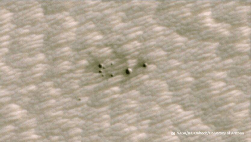 Кратеры на Марсе