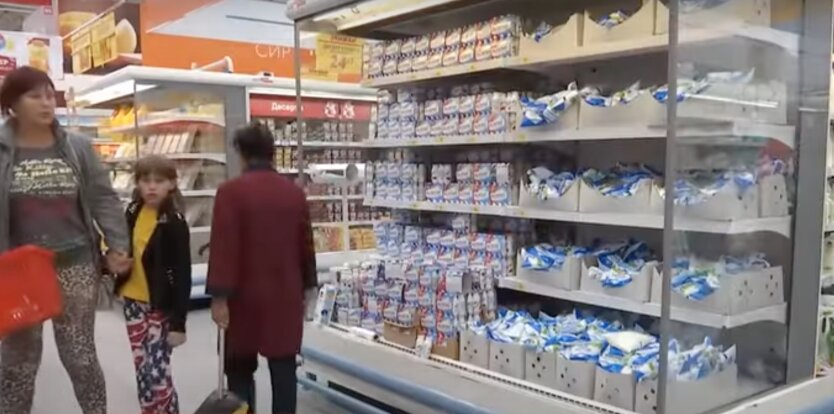 Цены на молочные продукты