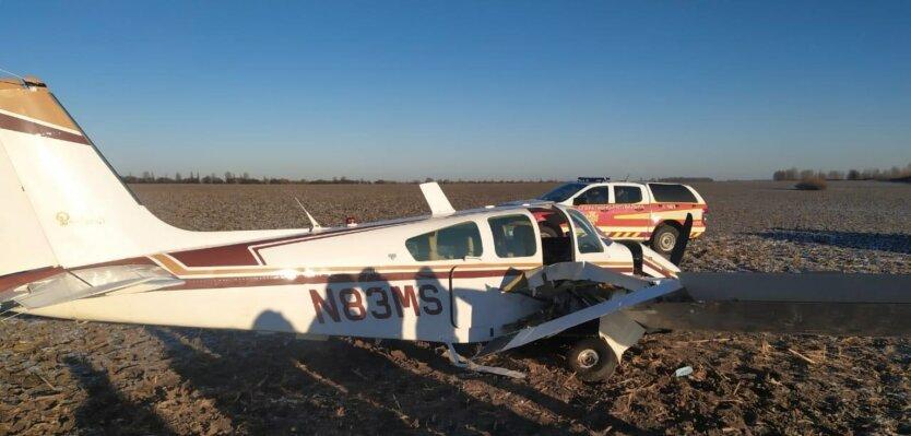 Крушение самолета под Киевом