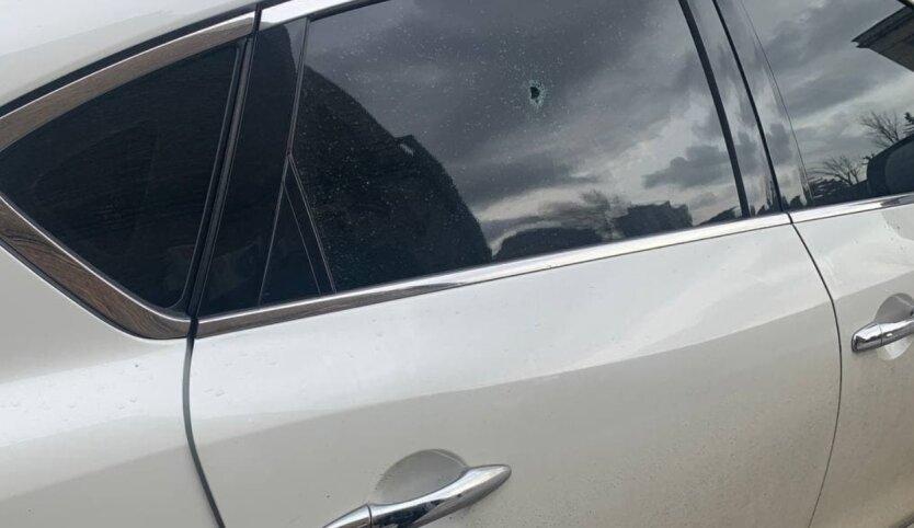 Киев, стрельба, авто