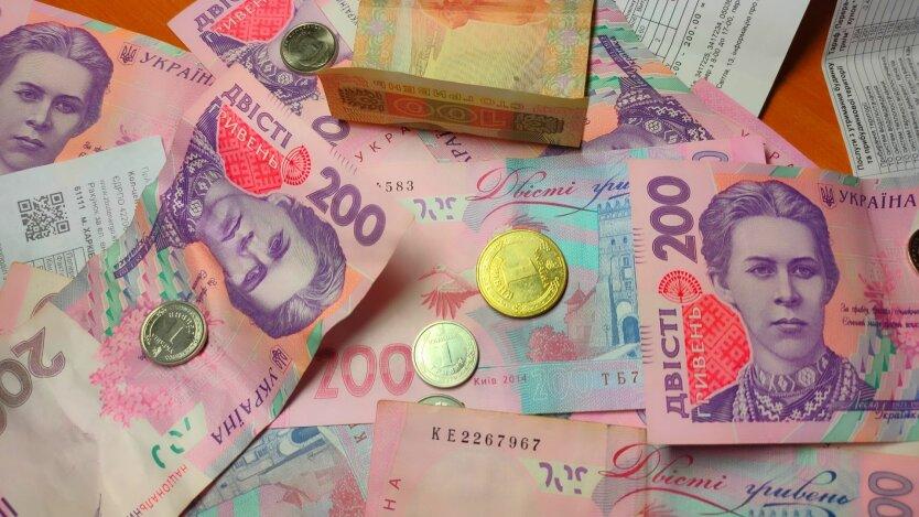 Платежки за оплату ЖКХ, деньги и монеты