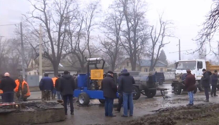 Ремонтные работы, водоснабжение, Киев