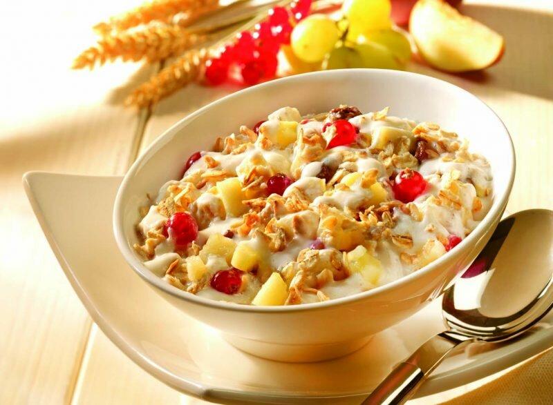 мюсли, завтрак