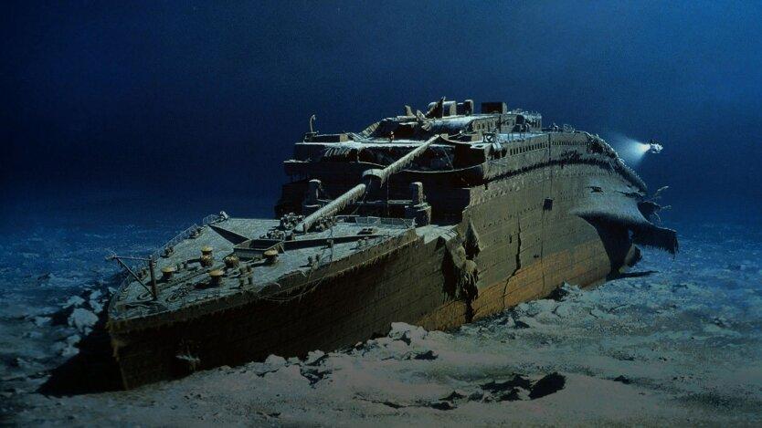 запретный груз на Титанике