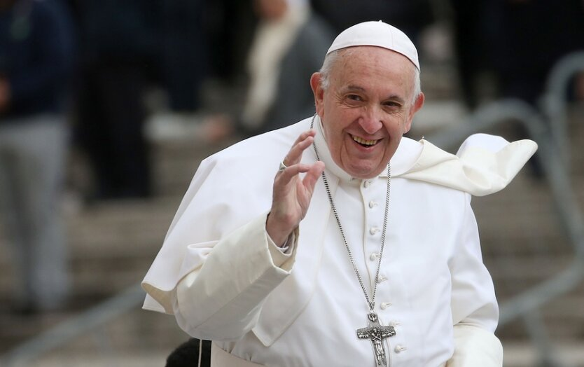 Pope Francis Attends His Weekly Audience