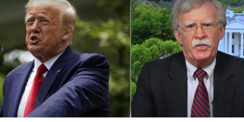 Трамп и Болтон