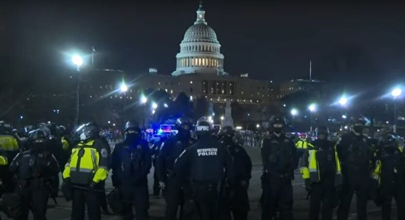 Протесты в Вашингтоне