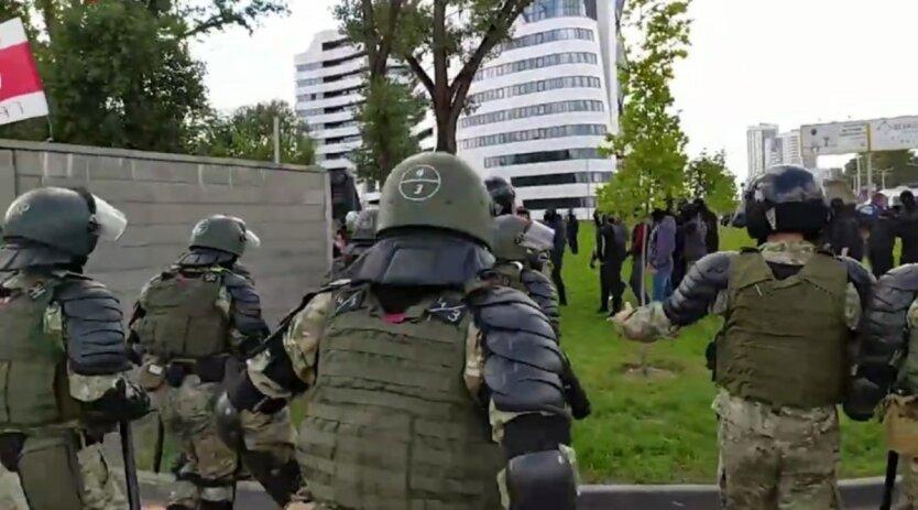 Задержания участников протестов в Беларуси,Протесты в Минске,Марш Героев в Беларуси