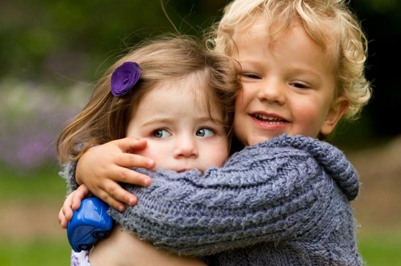 мальчик и девочка, дети