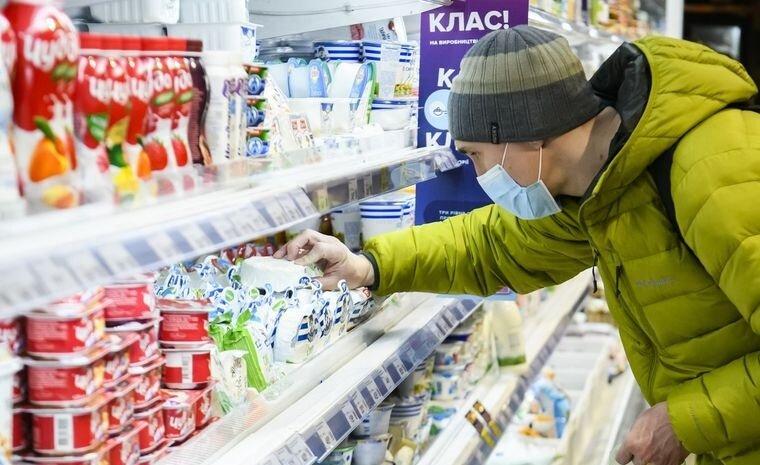 Рост цен на продукты в Украине