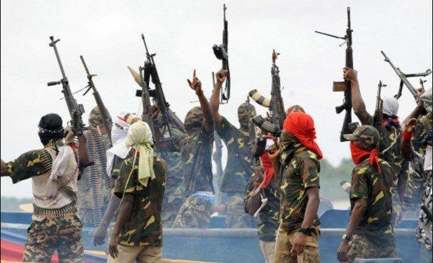 нигерия пираты