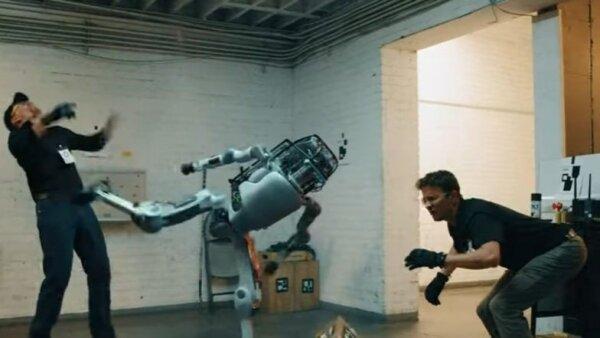 робот Атлас восстал