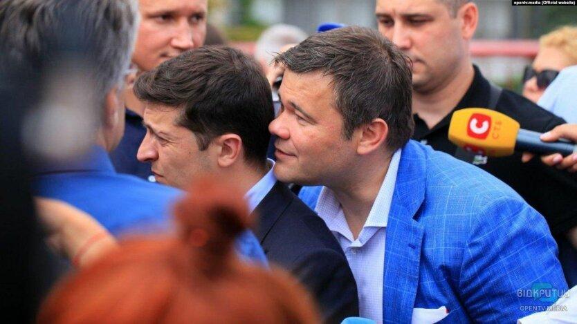 Богдан впервые признался, что шепчет на ухо Зеленскому