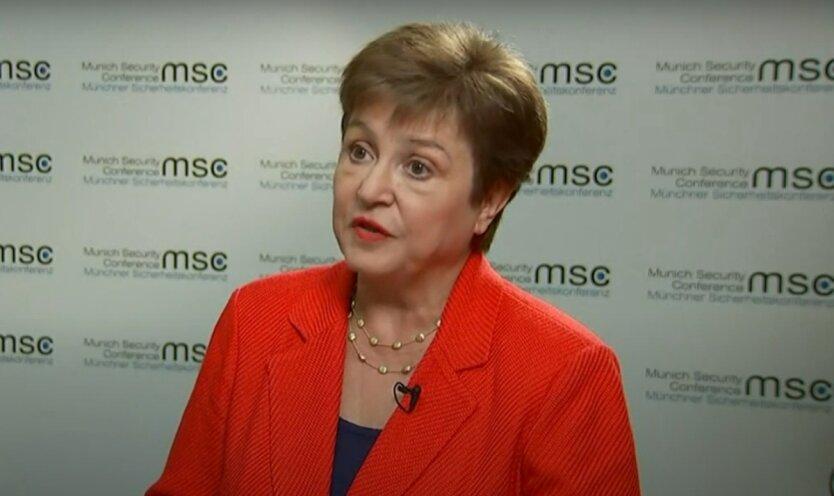 Кристалина Георгиева, глава МВФ
