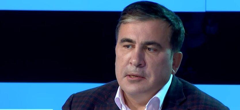 Михеил Саакашвили, пожар в Одессе, гостинница