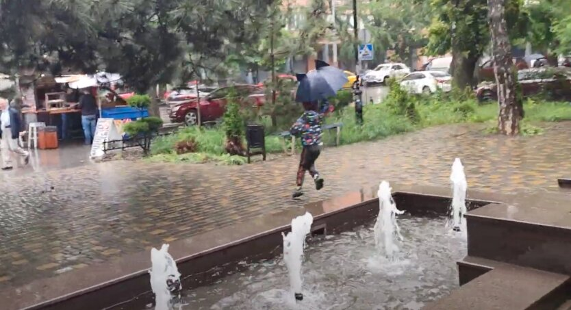 Дожди в Украине, погода в украине