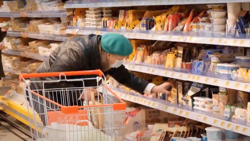 Цены на продукты, пенсии в украине