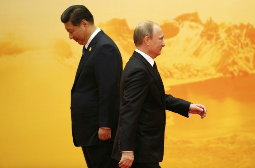 Владимир Путин Си Цзиньпинь3
