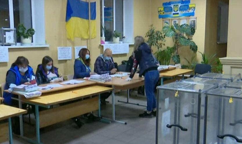 В Украине проходят выборы в двух округах