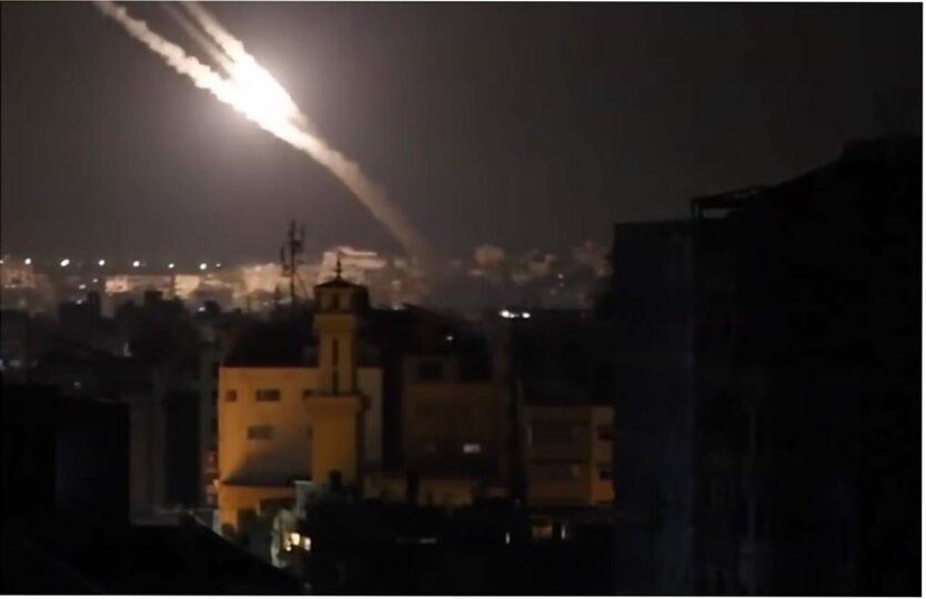 Ракетный обстрел Израиля, Движение ХАМАС, Палестино-израильский конфликт