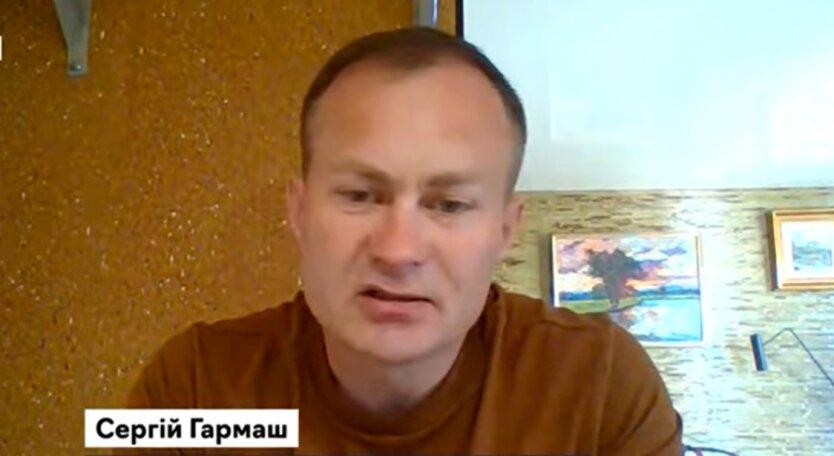 Сергей Гармаш, Россия, Донбасс