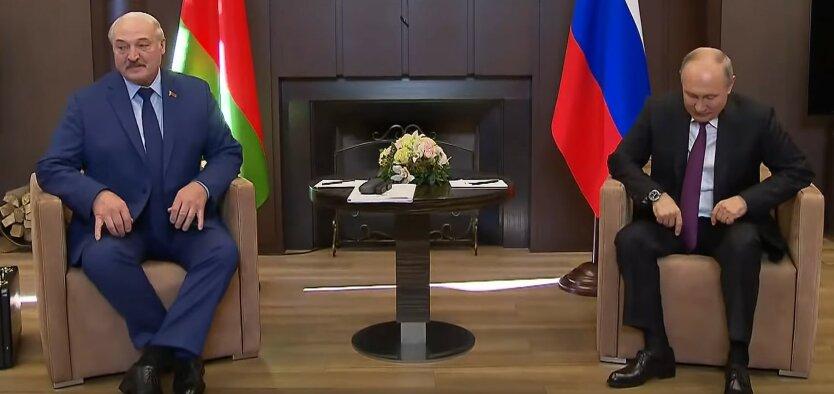Встреча Путина и Лукашенко в Сочи, скриншот