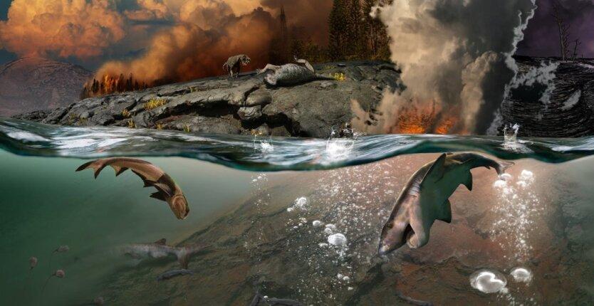 перм вымирание