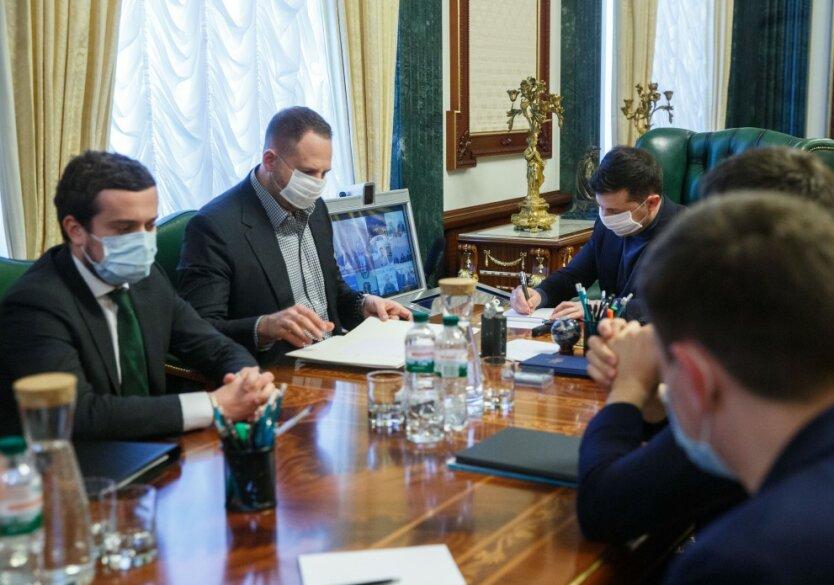 Владимир Зеленский, ОП, президент Украины