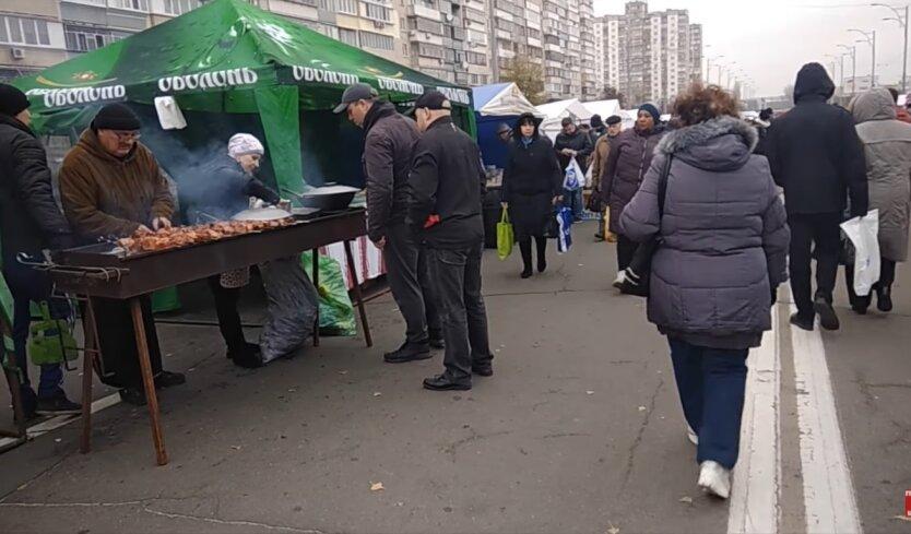 Ярмарки в Киеве, карантин в Украине, коронавирус