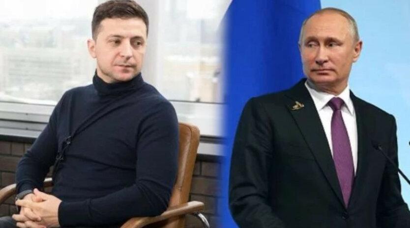 Владимир Зеленский Владимир Путин