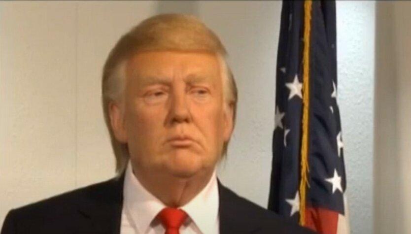 Воскового Трампа «нарядили» в Музее Тюссо после выборов