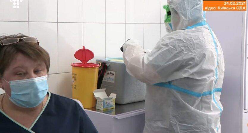 Вакцинация в Украине, коронавирус, карантин