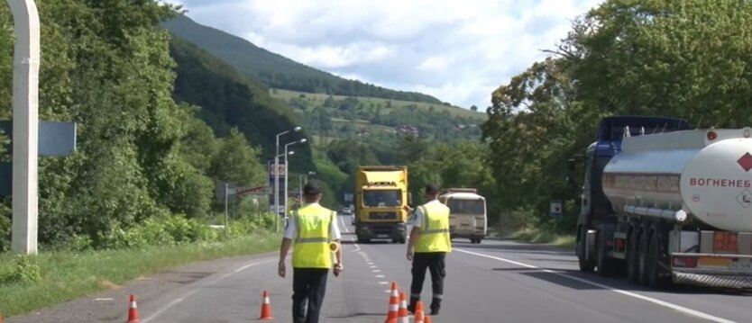 Ограничение въезда в Киев