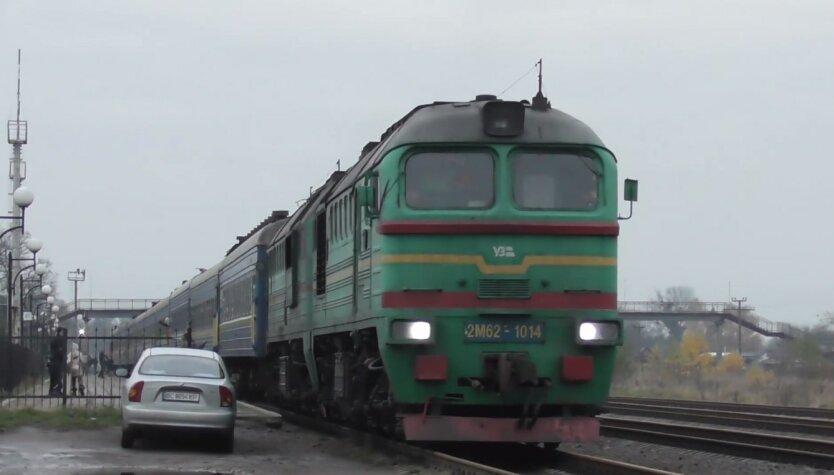 Укрзализныця, ДТП, комбайн и пассажирский поезд Бахмут-Львов
