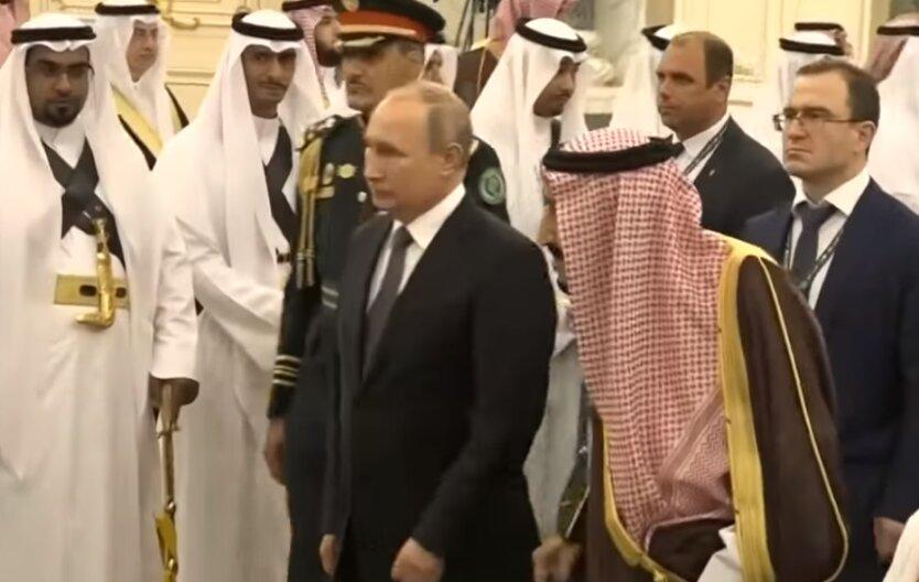 Владимир Путин и принц Саудовской Аравии