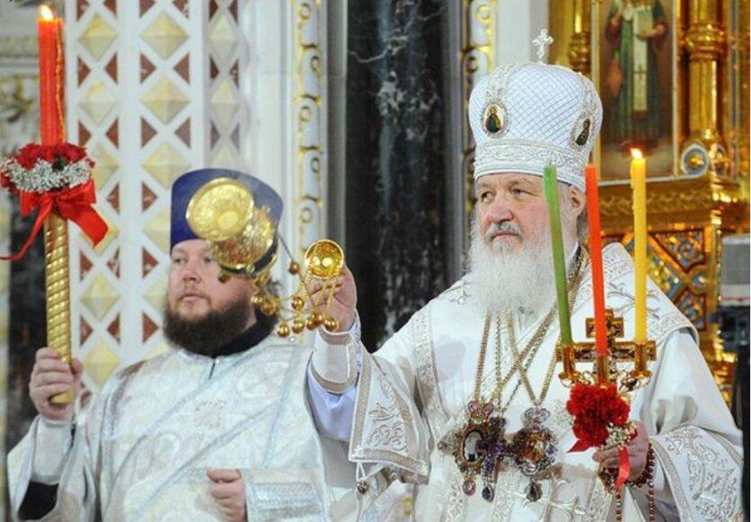 Патриарх Кирилл, протодиакон Александр Агейкин